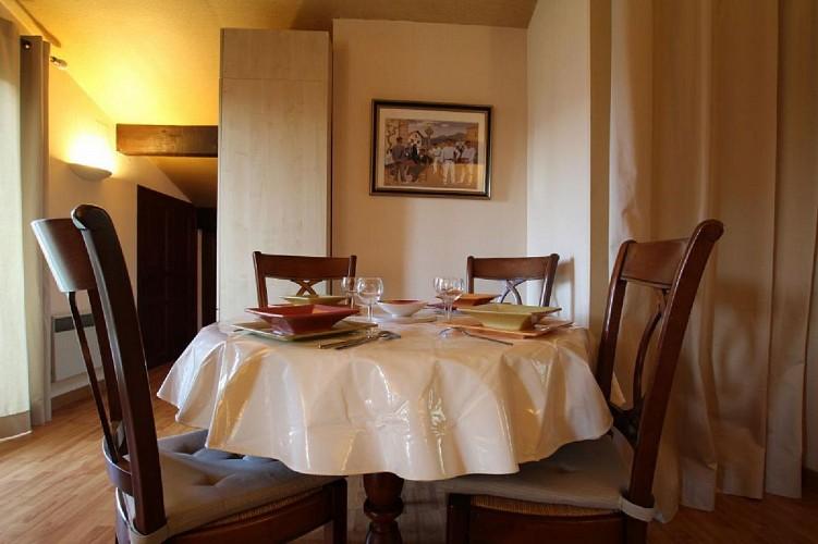 Appartement Videgain espace repas - St Jean Pied de Port