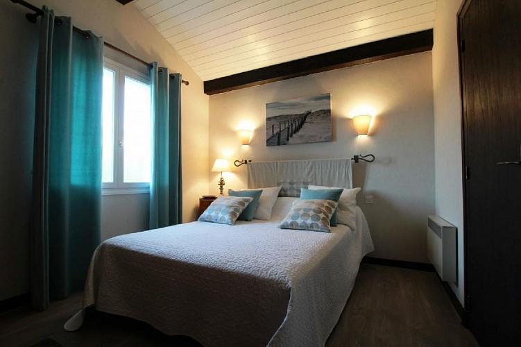 Appartement Videgain chambre lit double - St Jean Pied de Port