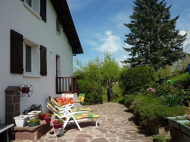 Appartement Videgain terrasse arriere - St Jean Pied de Port