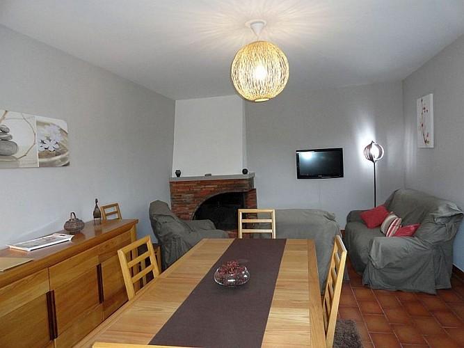 Location Biscaichipy - 06 - Salon et salle à manger - Ispoure