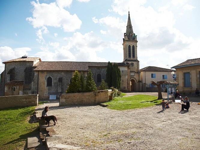 Bernos-Beaulac - église (2)