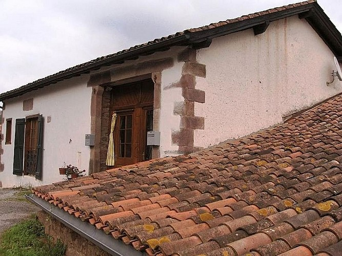 Location Ithurralde - 02 - Entrée - St Jean Le Vieux