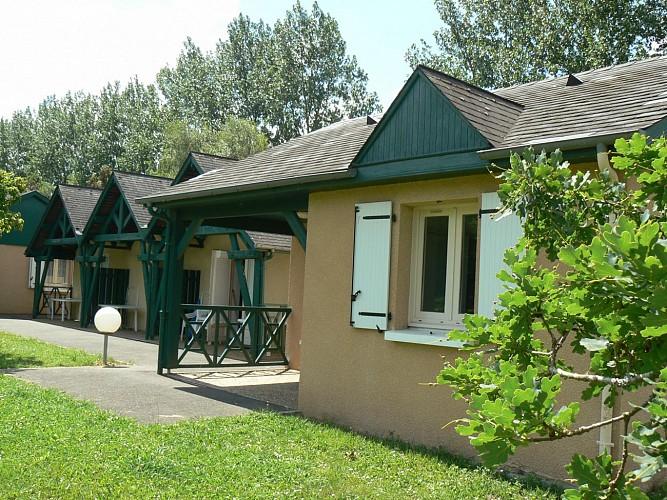 Chalet Camping Pyrénées Nature (Office de Tourisme du Piémont Oloronais)