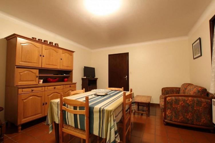 Appartement Ocafrain salon et salle a manger - St Etienne de Baigorry