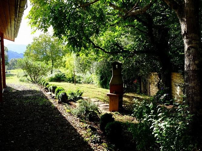 Maison Durruty jardin autre vue - Osses