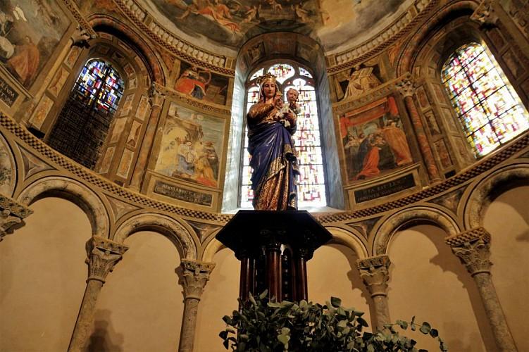 Choeur cathedrale de Lescar