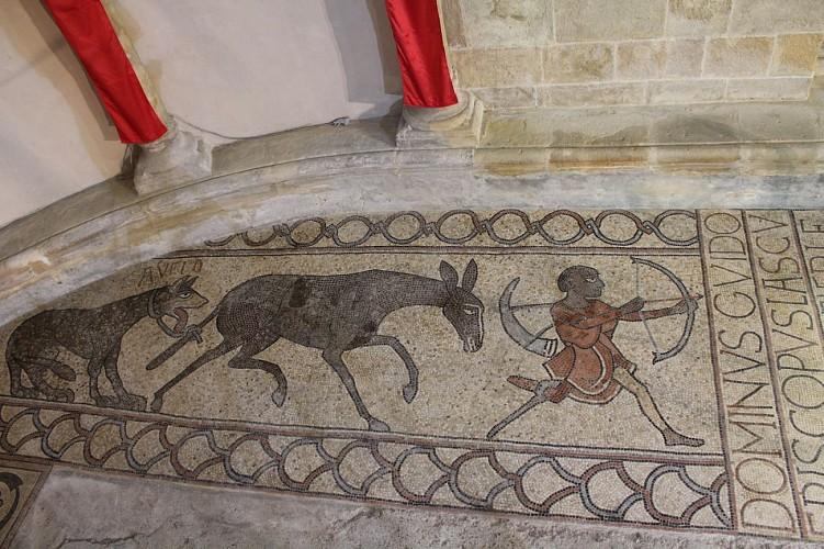 mosaïque cathédrale de Lescar