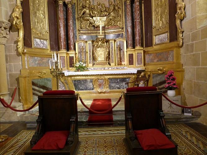 retable cathédrale de Lescar