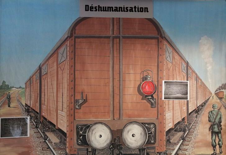 Musée de la Résistance et de la Déportation - Pau - Train