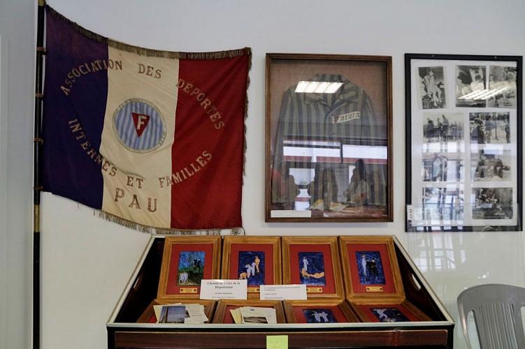 Musée de la Résistance et de la Déportation - Pau - Drapeau