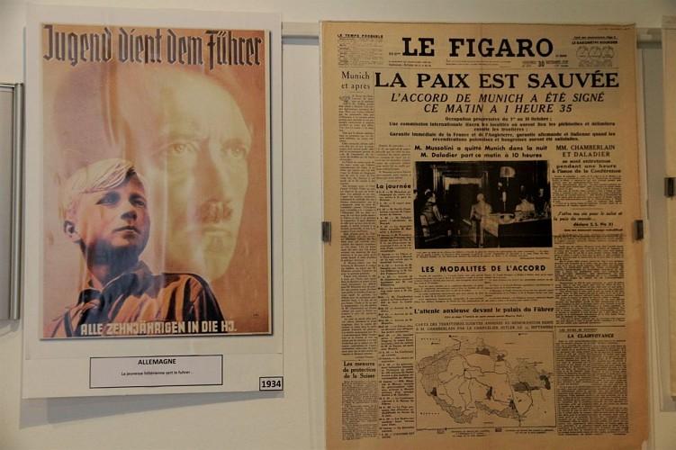 Musée de la Résistance et de la Déportation - Pau - Affiches