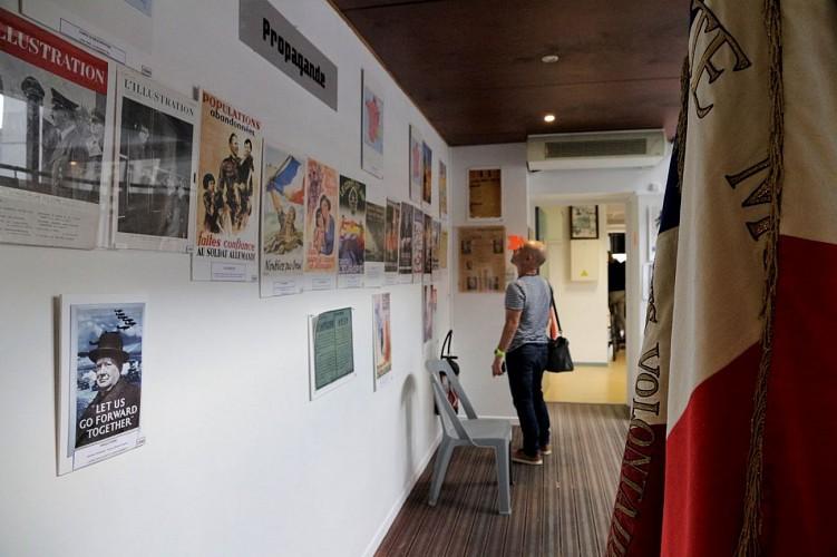 Musée de la Résistance et de la Déportation - Pau - couloir