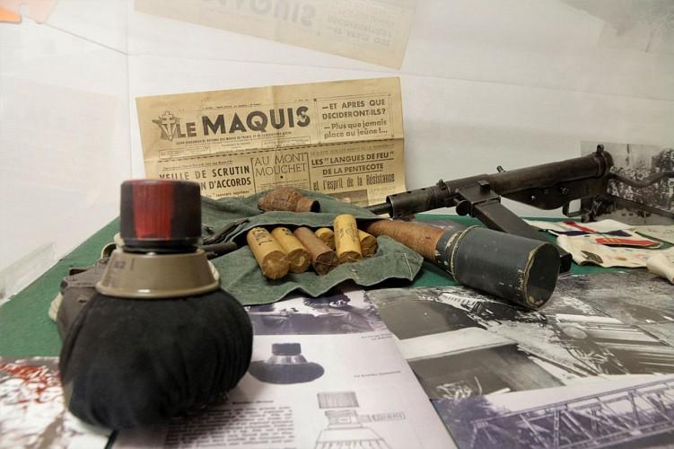 Musée de la Résistance et de la Déportation - Pau - Grenades