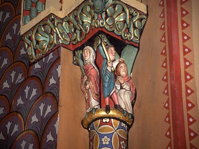 Morlaàs, église Sainte Foy, chevet parJMG