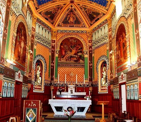 Andoins, église Saint Laurent, choeur 2