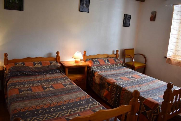 Location Videgain - Chambre 2 lits - Aldudes