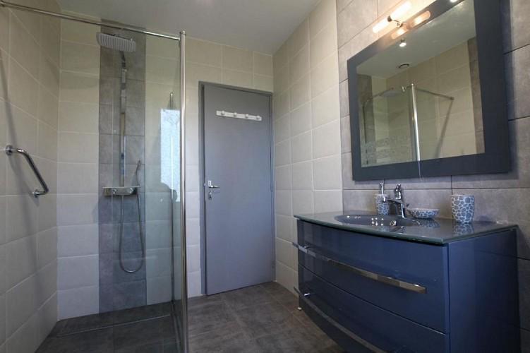 Maison Bidart salle de douche - Lasse