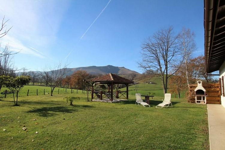 Maison Bidart jardin - Lasse