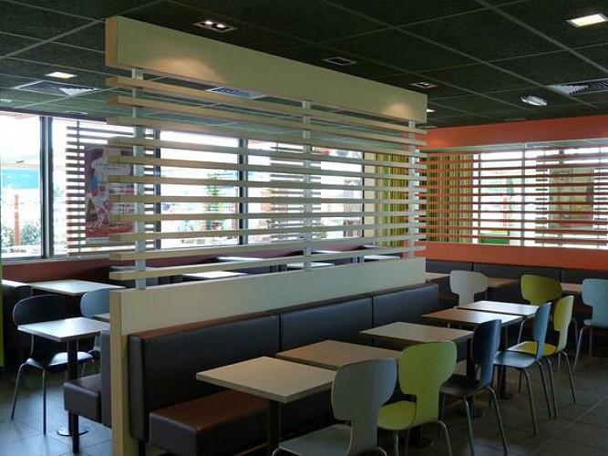 Restaurant Mac donald's 4