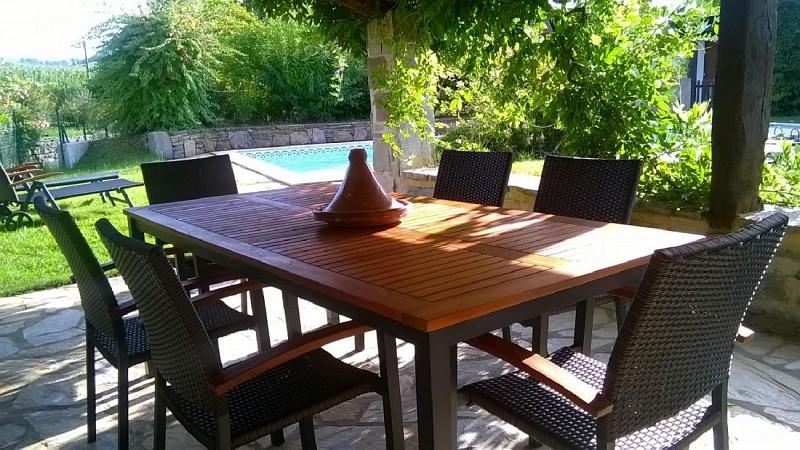 Maison Iralour terrasse et piscine - Ainhice Mongelos
