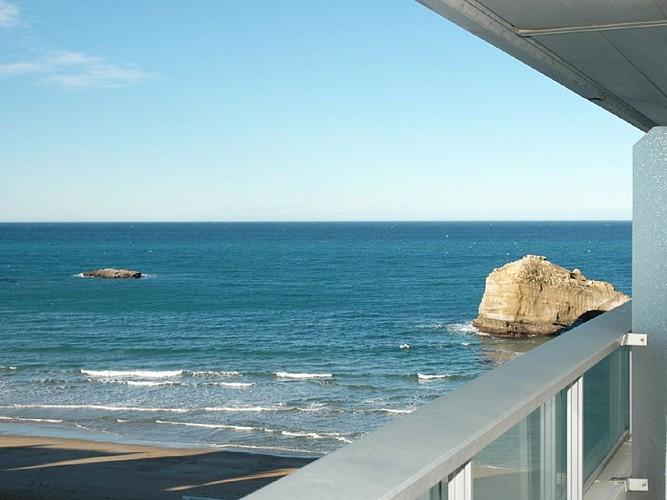 Vue Mer Bessouat Biarritz