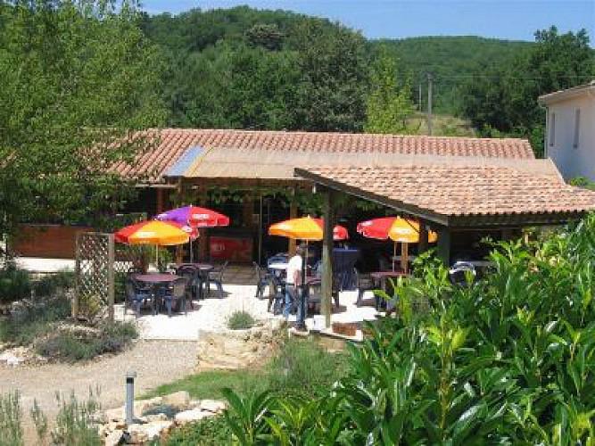 Salles_Restaurant, Camping des Bastides