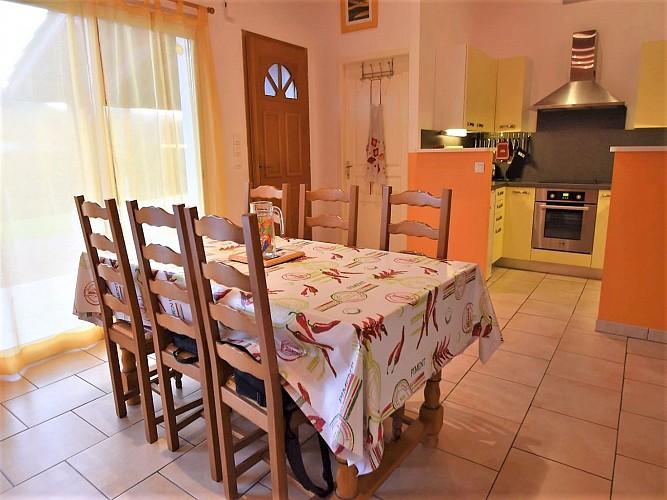 Sallagoity-salle à manger cuisine- Ainhice Mongelos