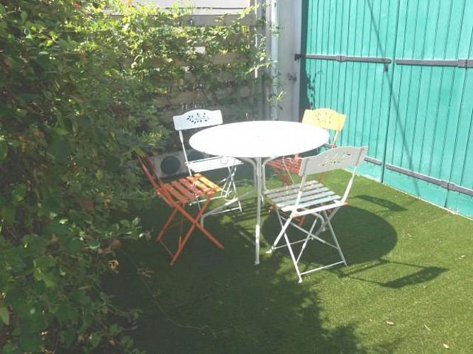 Pince studio terrasse