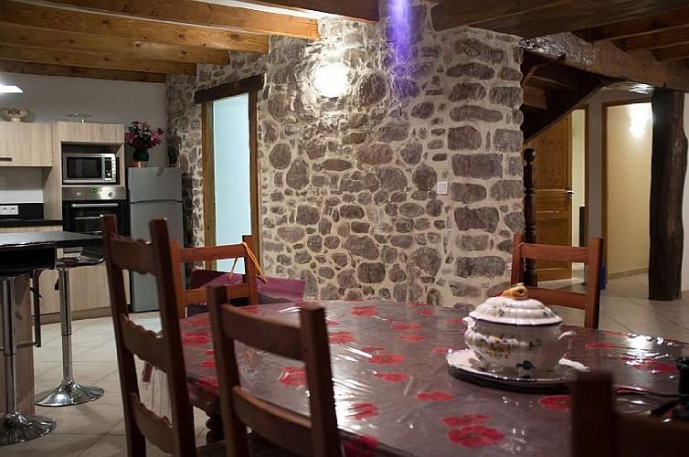 Maison Cedarry salle a manger - Bidarray