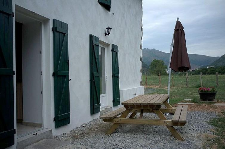 Maison Cedarry terrasse - Bidarray