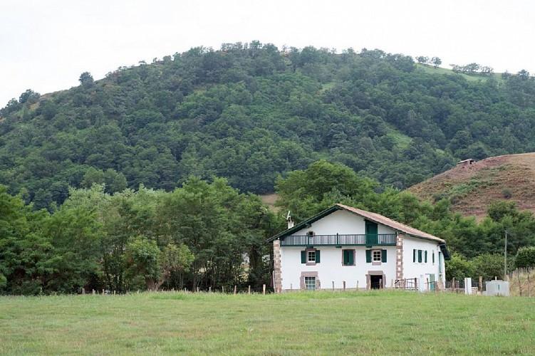 Maison Cedarry vue - Bidarray