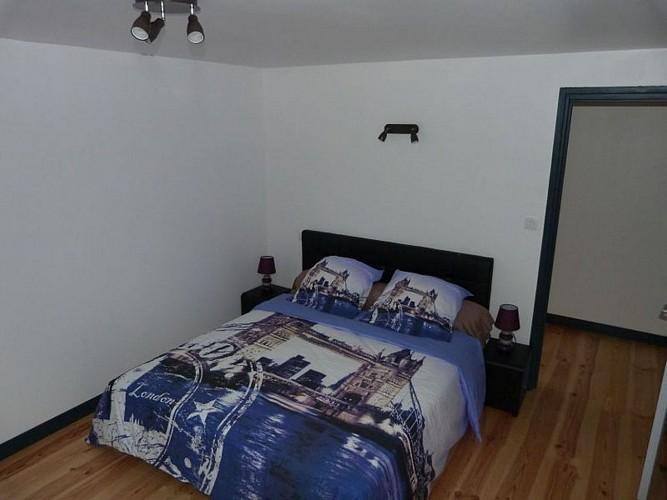 Location Arhancet - Chambre lit double Londres - Bussunarits