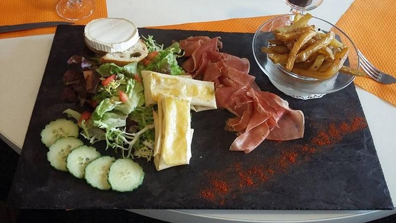 Restaurant Le Nobel - Pau - assiette