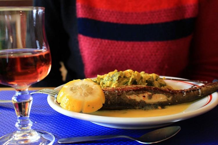 Saint Palais restaurant Lafitte