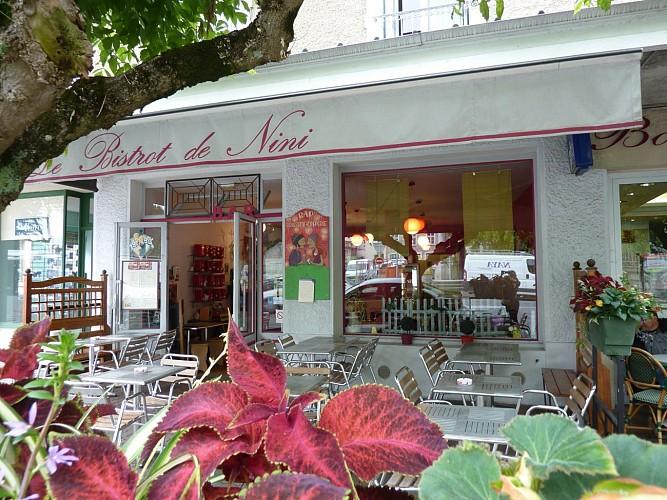 Le bistrot de Nini - Terrasse (Office de Tourisme du Haut Béarn)