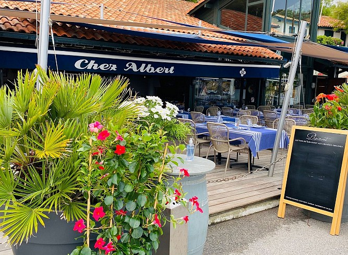 Chez Albert terrasse 2