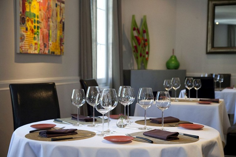 Restaurant Biarritz Les Rosiers Salle