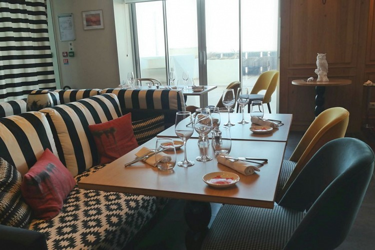 Restaurant Régina Iqori Biarritz salle