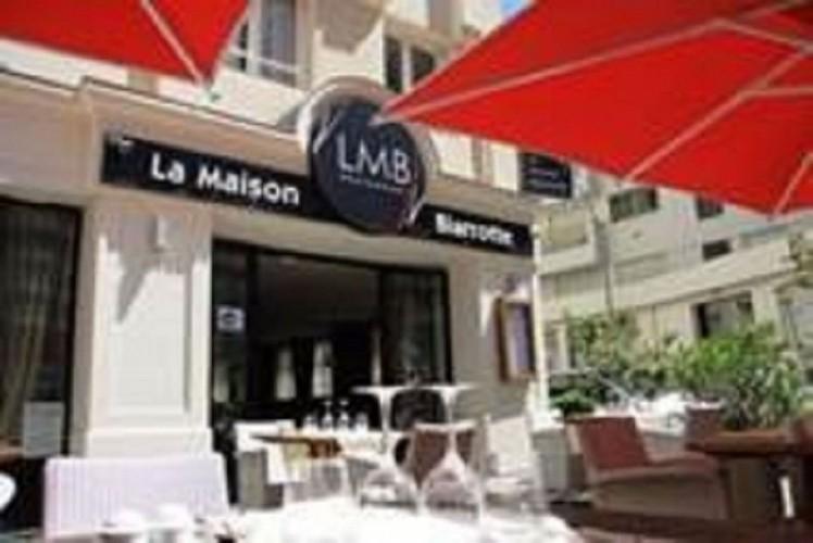 Restaurant-LMB Biarritz Vue extérieur