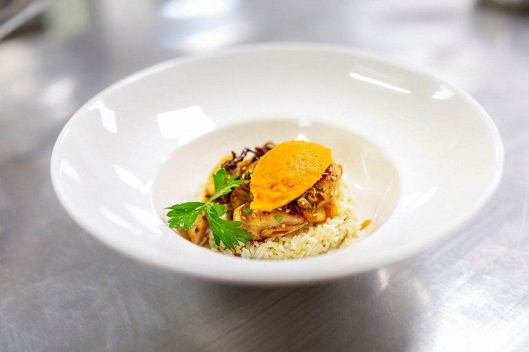 Restaurant-LMB Biarritz plat