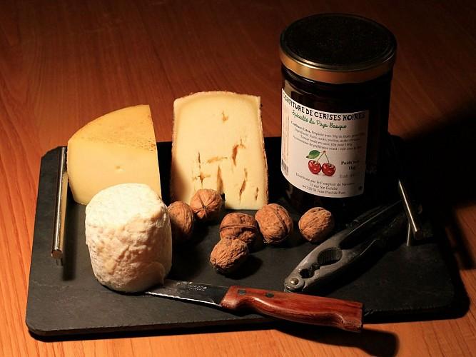 Restaurant Gamia - Tables dressées - Bussunaritz