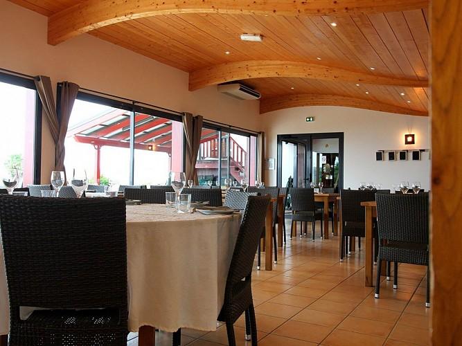 Restaurant Gamia - terrasse - Bussunaritz