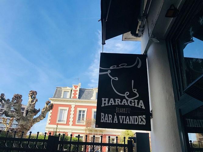 Haragia Biarritz devanture1