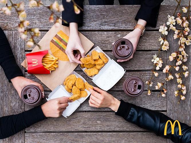 Restaurant Mc Donald's - Pau Nobel - nuggets