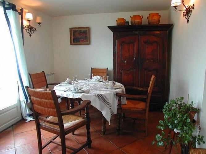 Hotel restaurant Barberaenea - salon - Bidarray