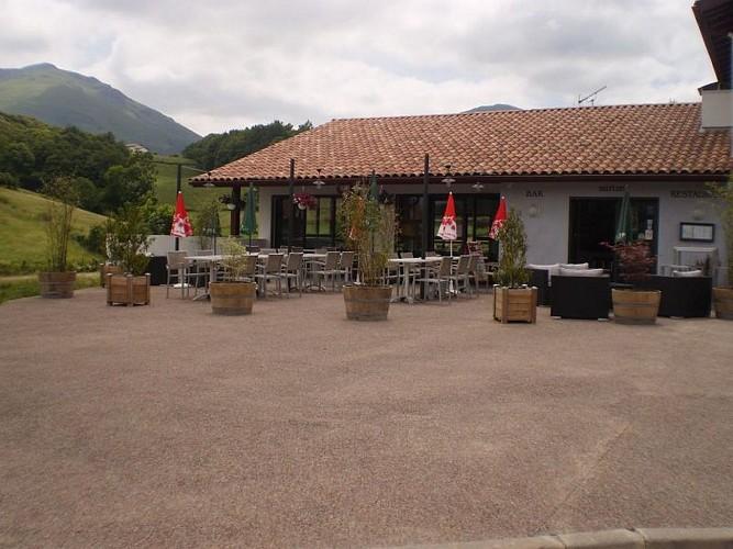Restaurant Jarapea - terrasse - Irouléguy