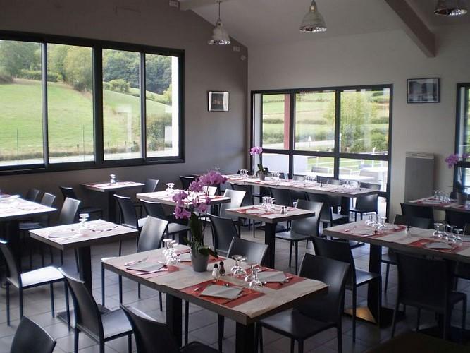 Restaurant Jarapea - salle - Irouléguy