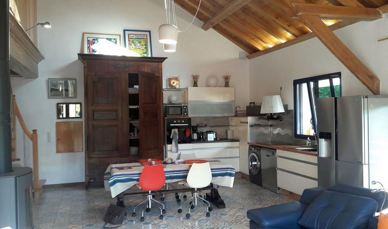 Location Pays Basque Soule 03_Récondo_séjour cuisine
