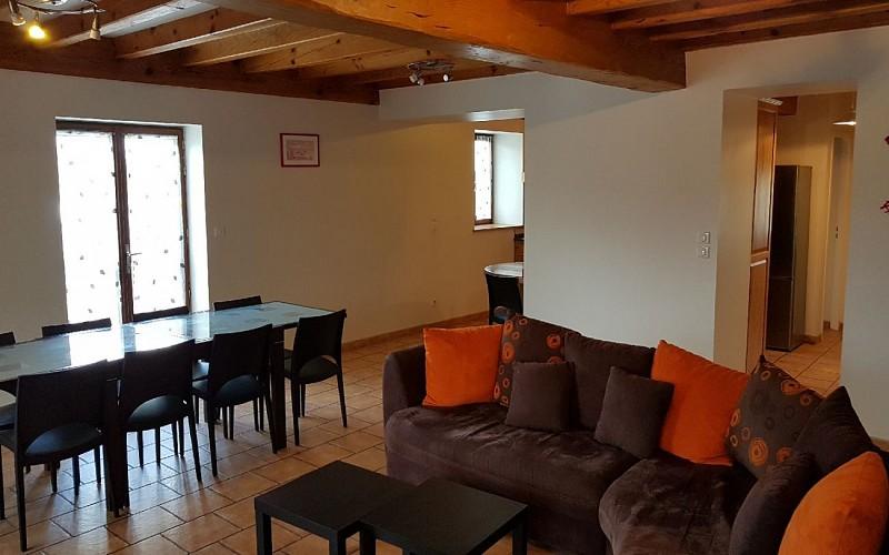 Gite av terrasse - salon séjour 2