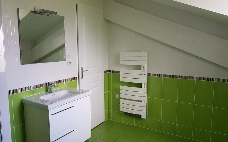 Gite av terrasse - salle de bain 2 bis bis